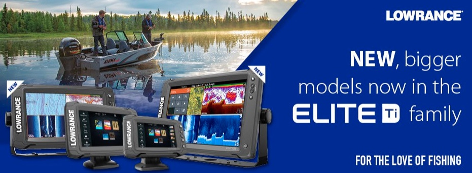 Lowrance Elite Ti | Blue Bottle Fishing
